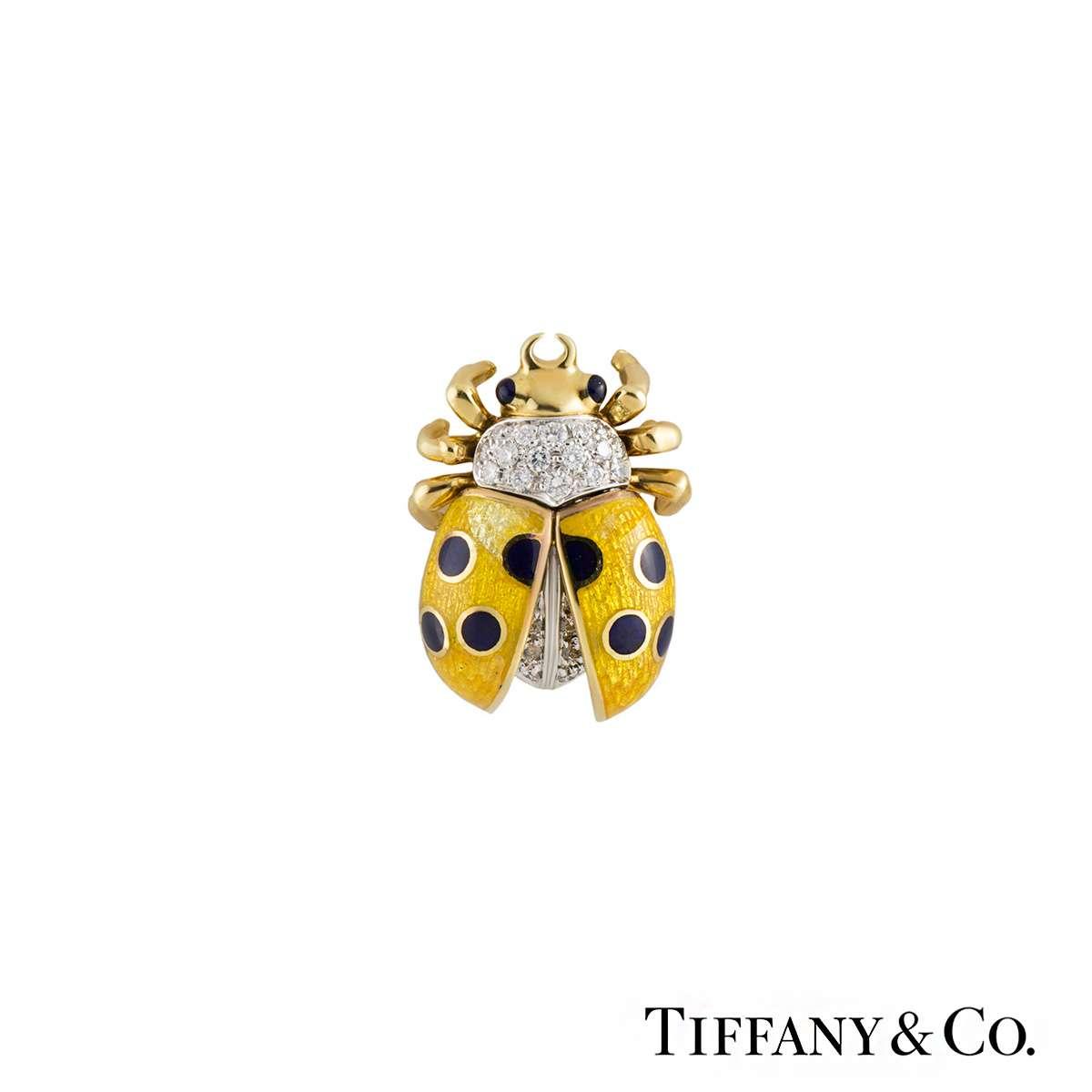 Tiffany & Co. Ladybird Diamond Brooch